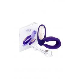 Многофункциональный стимулятор для пар Satisfyer Partner Toy Plus REMOTE, силикон, фиолетовый, 18см