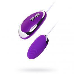 Виброяйцо TOYFA A-Toys, Силикон, Фиолетовый,  6,5 см