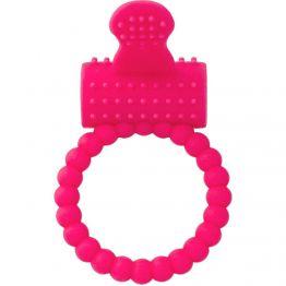 Эрекционное кольцо на пенис TOYFA A-Toys, Силикон, Розовый, Ø3,5 см