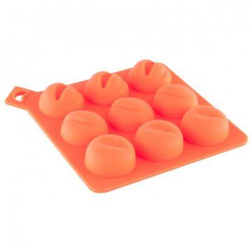 Сувенир Форма для льда TOYFA Black & Red, силикон, оранжевая, 13 см 901350-11