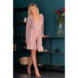 Пеньюар Mikiss (L-XL, розово-пудровый) 90617