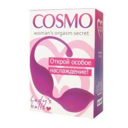 ШАРИКИ ВАГИНАЛЬНЫЕ цвет розовый D 30 мм арт. CSM-23005