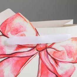 Пакет подарочный Подарок, 25 × 26 × 10 см