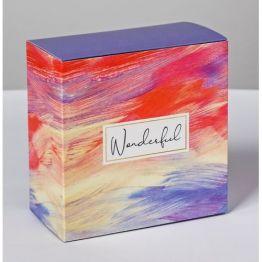 Коробка складная Wonderful, 14 × 14 × 8 см   4796789