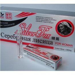 Женские Серебряная лисица Silver Fox - женский возбудитель в каплях, 7689045