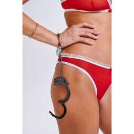 Настоящие металлические наручники (Be Mine) 04993OneSize
