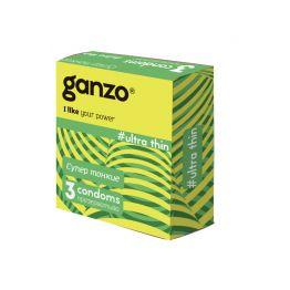 Презервативы Ganzo Ultra thine № 3