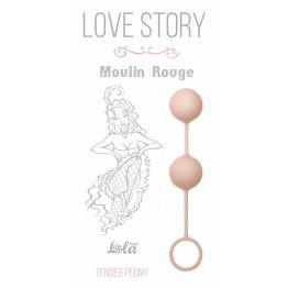 Вагинальные шарики Love Story Moulin Rouge pink 3009-01Lola