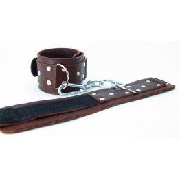 Наручники коричневые кожаные 51012ars