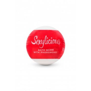 Шипучая соль для ванны с феромонами Sexy (OS, белый)