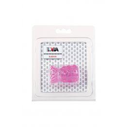 Насадка рельефная TOYFA, TPE, розовый, 5 см 888001