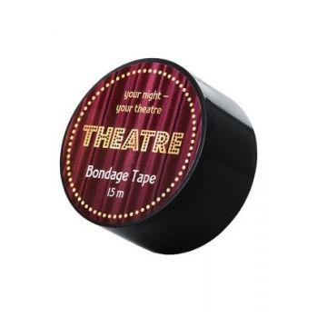 Бондажный скотч TOYFA Theatre, чёрный, 15 м.704025