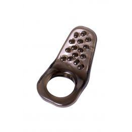 Эрекционное кольцо на пенис TOYFA XLover, Термопластичный эластомер (TPE), чёрный, 4 см