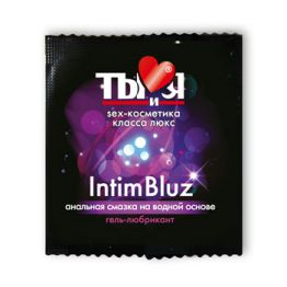 ГЕЛЬ-ЛЮБРИКАНТ Intim Bluz одноразовая упаковка 4г арт. LB-70018t