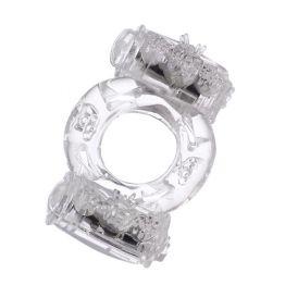 Эрекционное кольцо TOYFA, гелевое, прозрачное 818033-1