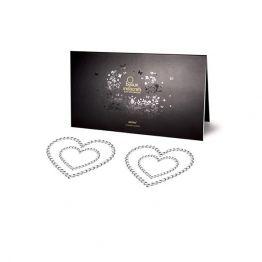 Bijoux Украшение на грудь Mimi Heart - Silver