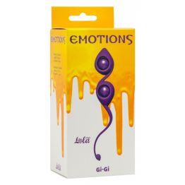 Вагинальные шарики Emotions Gi-Gi Purple 4003-01Lola
