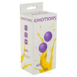 Вагинальные шарики без сцепки Emotions Lexy Large purple 4016-01Lola