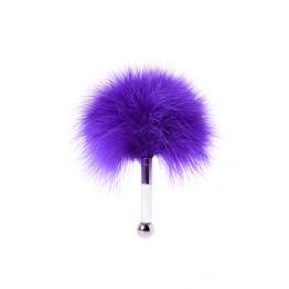 Щекоталка TOYFA Theatre, пластик, перо, фиолетовая 700026