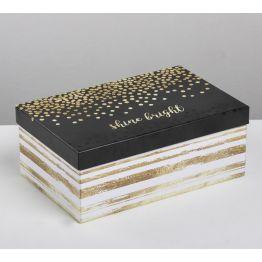 Подарочная коробка Счастье в простом, 4319283-10