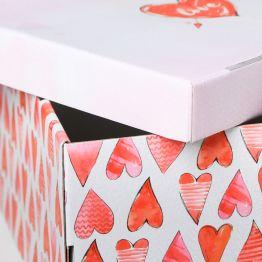 Коробка складная Любовь вокруг, 31,2 х 25,6 х 16,1 см   4520894