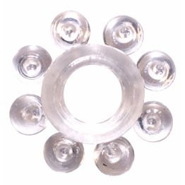 Эрекционное кольцо Rings Bubbles white 0112-30Lola