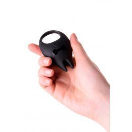 Виброкольцо Erotist Diablo, силикон, чёрный, 7,9 см, Ø 2,6 см