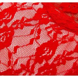 Карнавальные перчатки Ажур, цвет красный   4335192