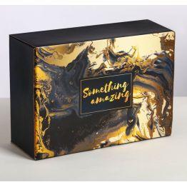 Коробка‒пенал Something amazing, 26 × 19 × 10 см